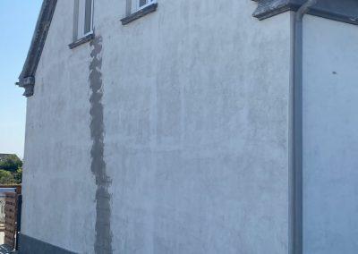 Malerarbejde af facader